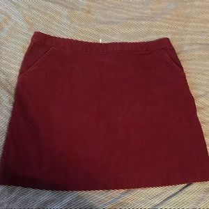 H&M corduroy skirt with pockets